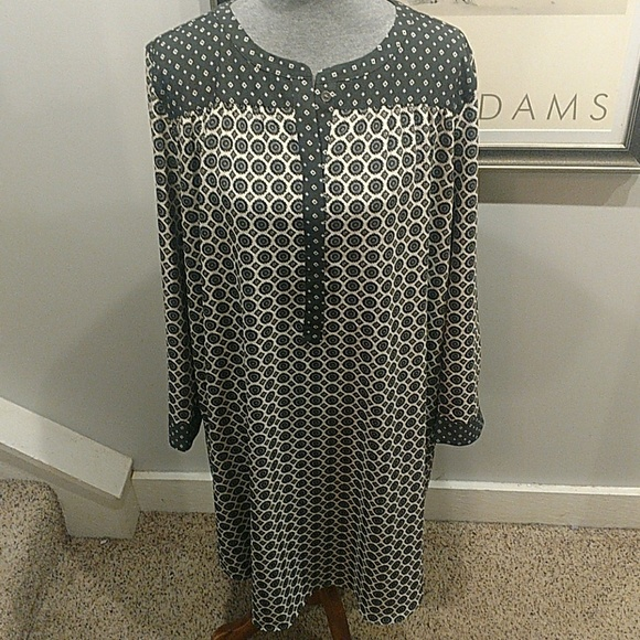 LOFT Dresses & Skirts - 2XX Ann Taylor Loft Shirt Style Dress LNWOT